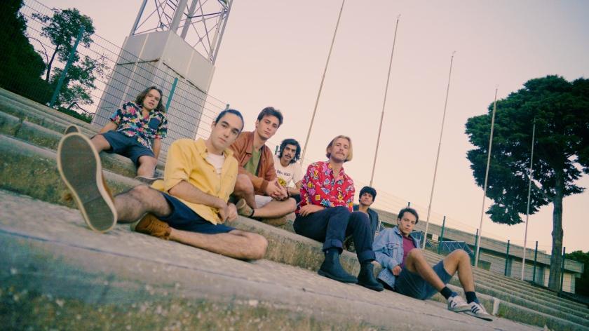 1 ©António Mendes AsCriançasLoucas Bruno Ambrósio, Vicente Wallenstein, Rodrigo Tomás, Fernão Biu, João Sala, Sílvio Vieira e João Cachola