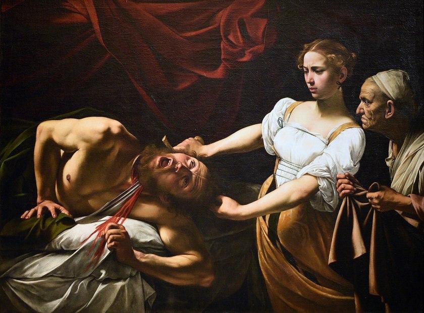Giuditta e Oloferne, Caravaggio, 1599, Galleria Nazionale d'Arte Antica, Roma