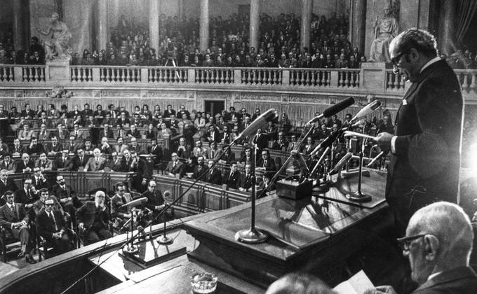 Cerimónia de abertura da Assembleia Constituinte Arquivo A Capital